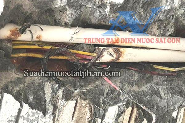 sửa điện bị chập tại quận Bình Thạnh