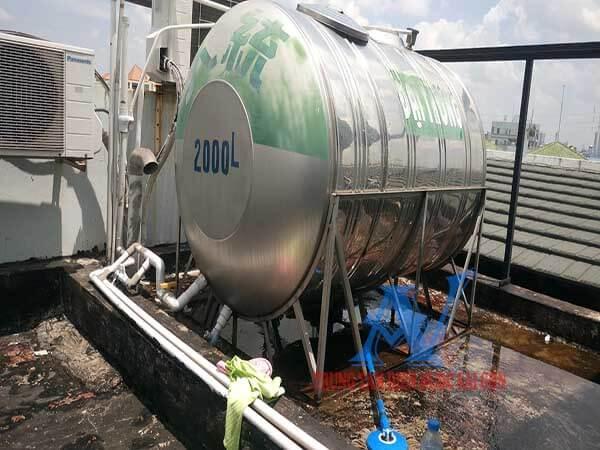 Sửa ống nước bồn chứa bị rò rỉ