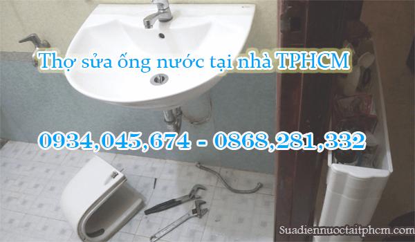 Sửa rò rỉ nước lavabo