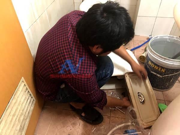 Sửa bồn cầu bị rò rỉ nước tại quận Phú Nhuận
