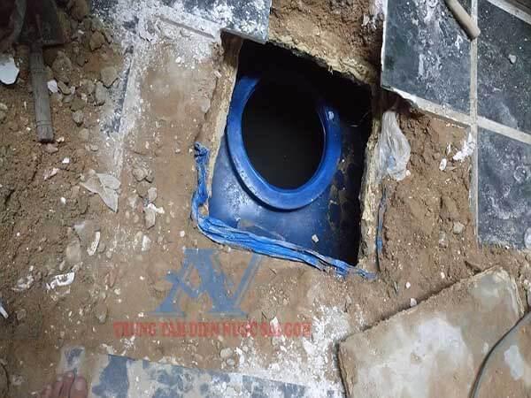 Sửa bồn nước ngầm bị rò rỉ nước