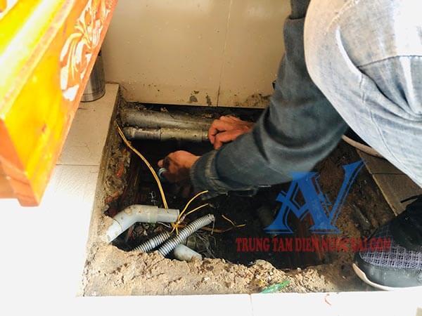 Thợ sửa ống nước tại quận 3 nhanh chóng