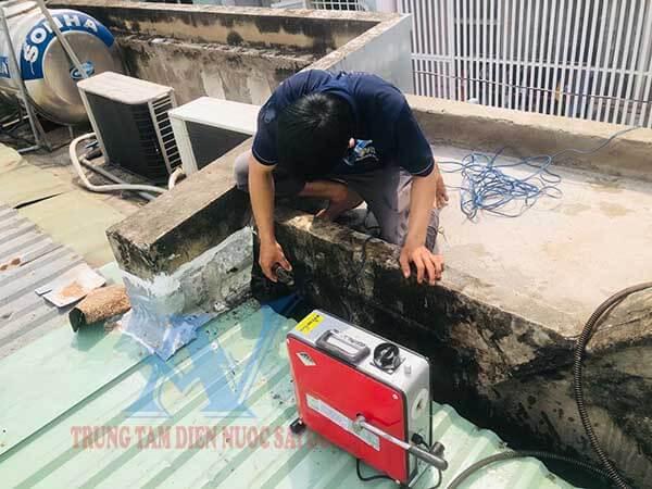 thông nghẹt ống nước mưa quận Gò Vấp