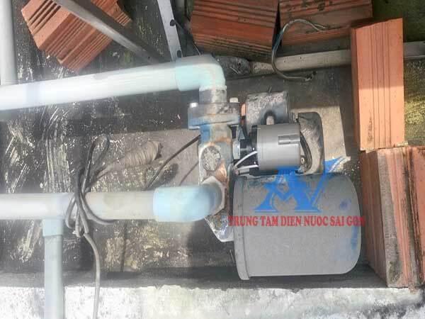 Sửa máy bơm nước tăng áp tại Gò Vấp