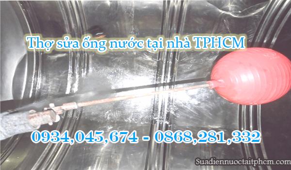 Súc rửa bồn nước inox tại Phú Nhuận